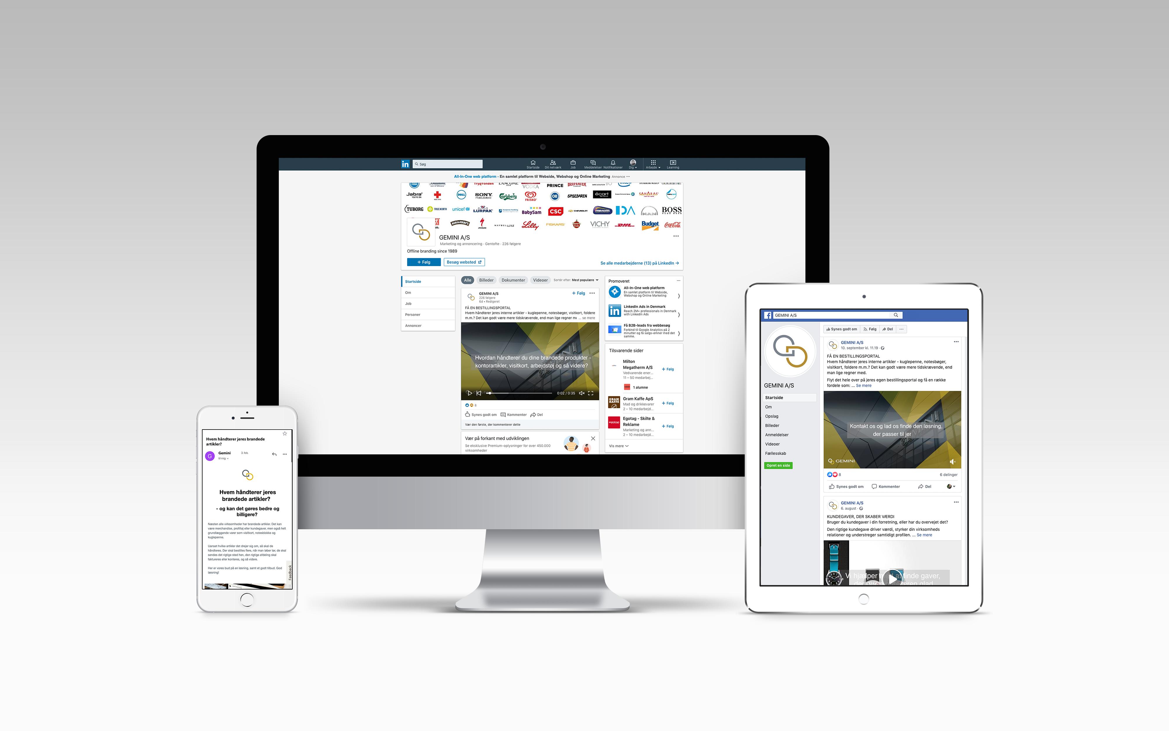 Din virksomheds newsflow